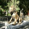 Пекин. Огненный лев.